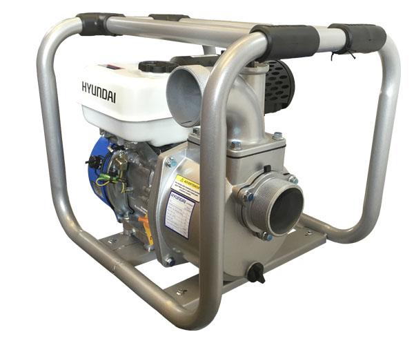 Bomba autocebante con motor a gasolina Hyundai HYW 6.7 HP