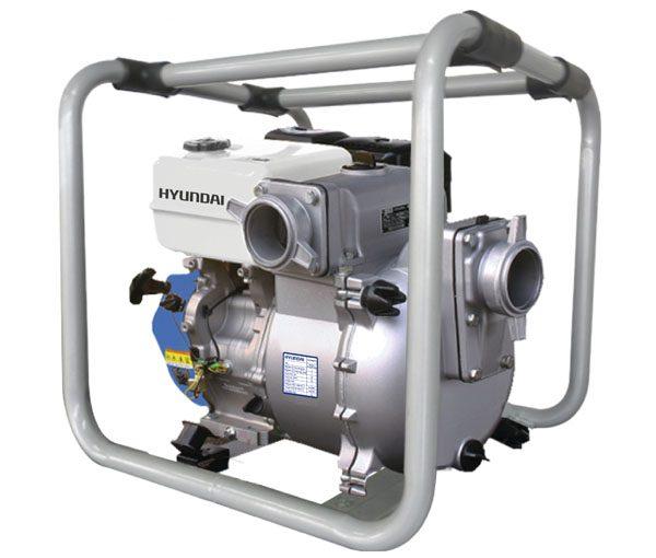 Bomba autocebante con motor a gasolina Hyundai HYW3093TS