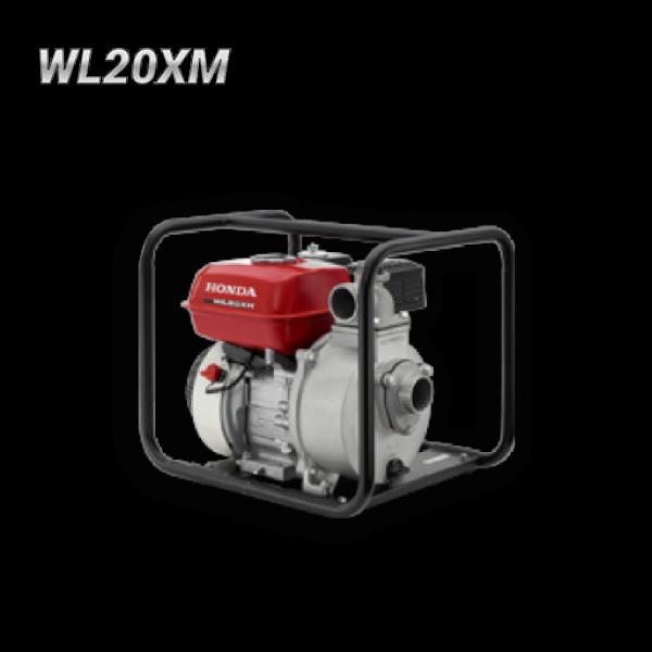 Bomba autocebante con motor a gasolina Honda WL20XM