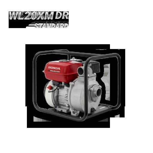Bomba autocebante con motor a gasolina Honda WL20XM baja presión 2″x2″